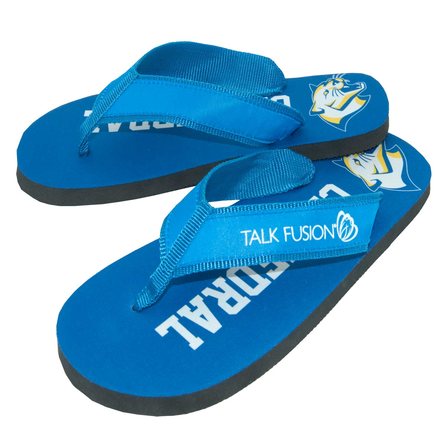 1eff9b80e3d940 We have great new styles in Flip Flops all ready for your custom  logo mascot and in your colors! …Flip Flops are THE perfect idea ...